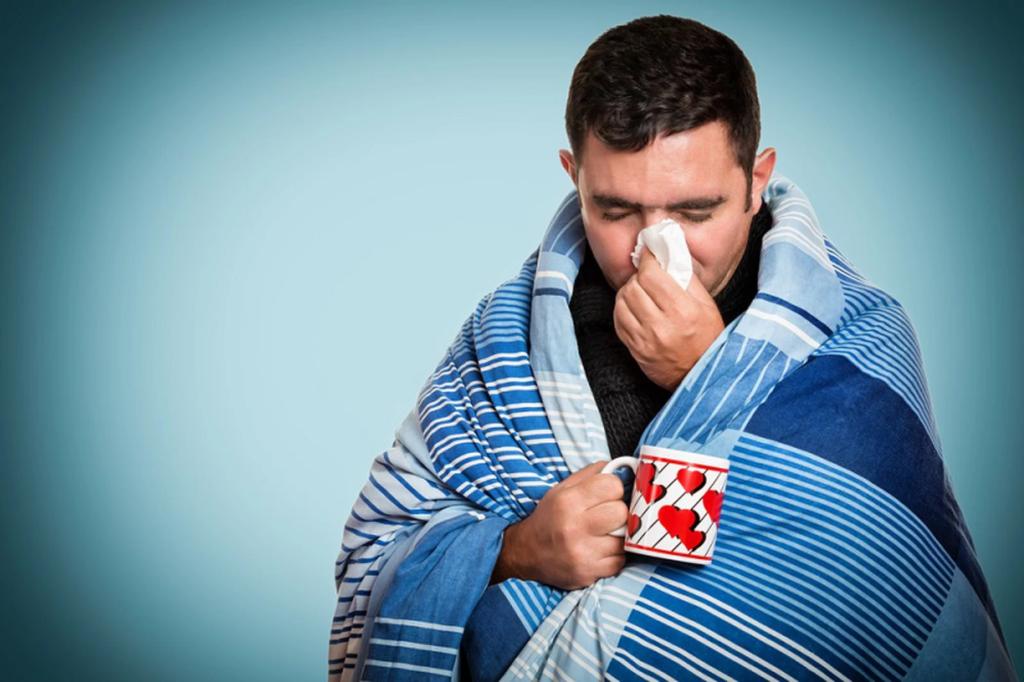 Мужчины хуже переносят грипп