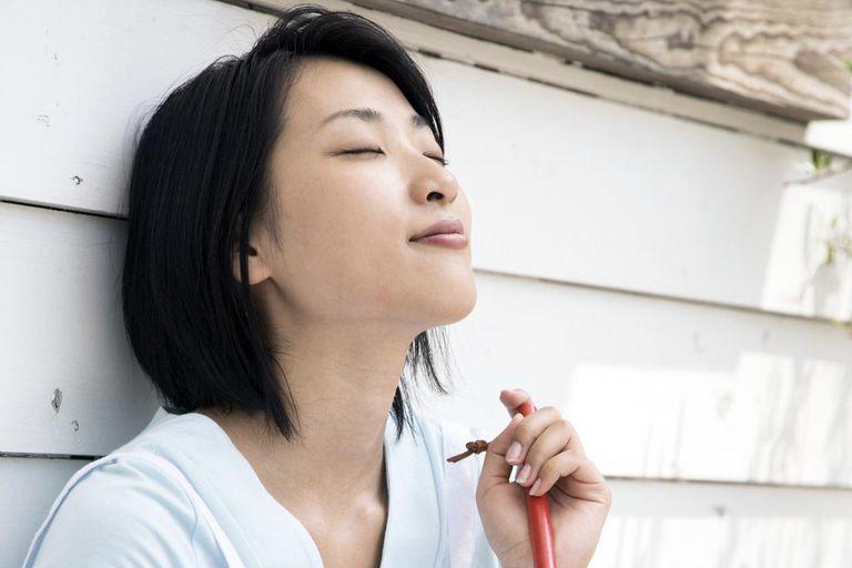 Снижение стресса с диафрагмальным дыханием