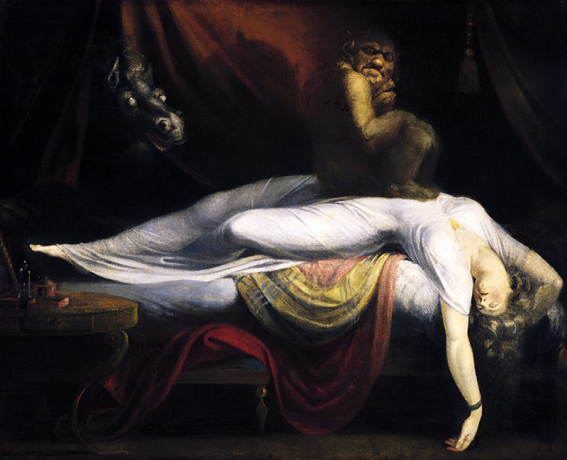 картина Ночной кошмар