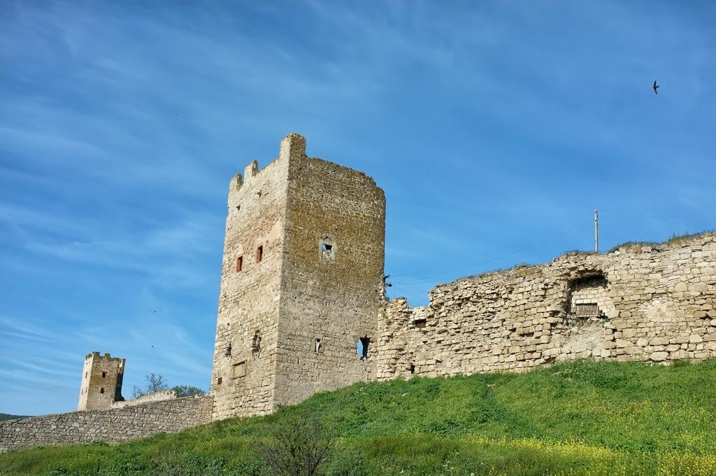 крепость Кафа Феодосия