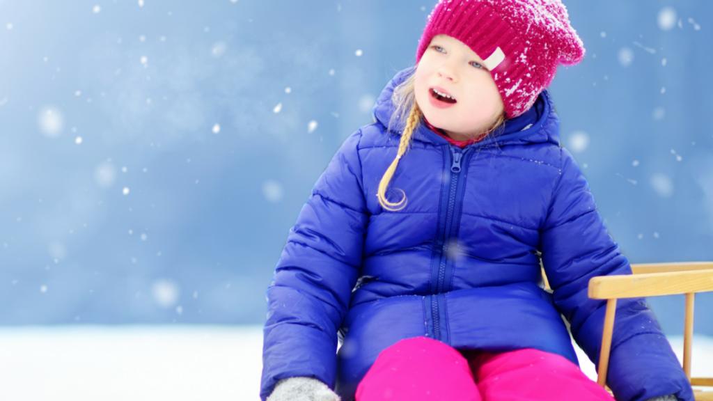 Зимний отдых с ребенком