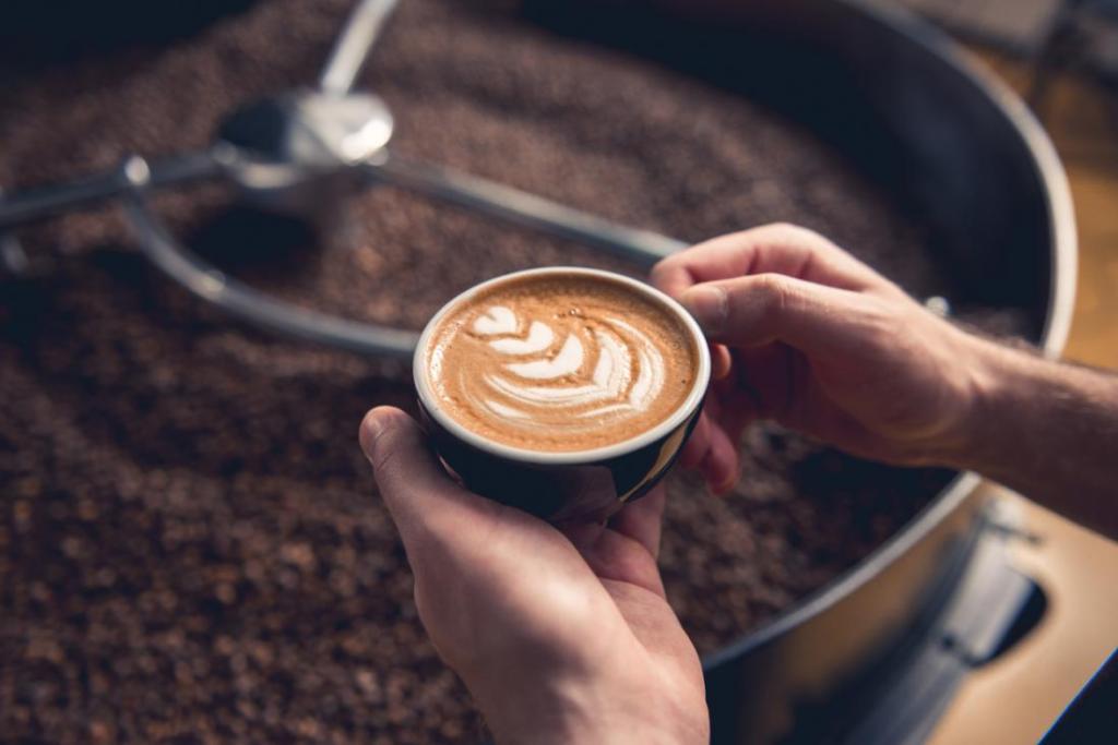 аппетитный кофе