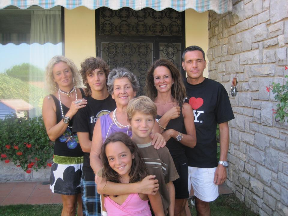 итальянская семья не чувствует боли