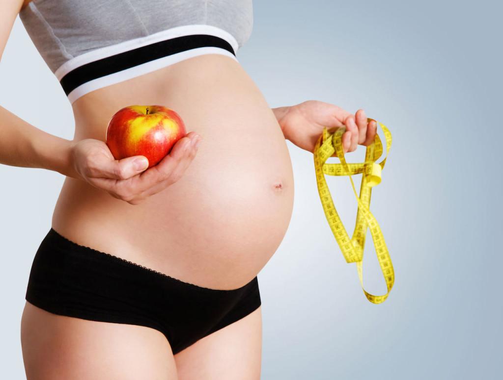 беременность и вес тела
