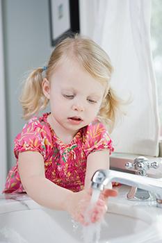 дети должны мыть руки