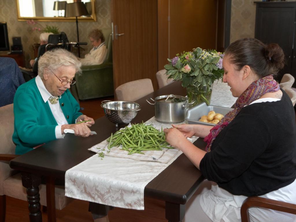 люди в голландском поселении для больных деменцией