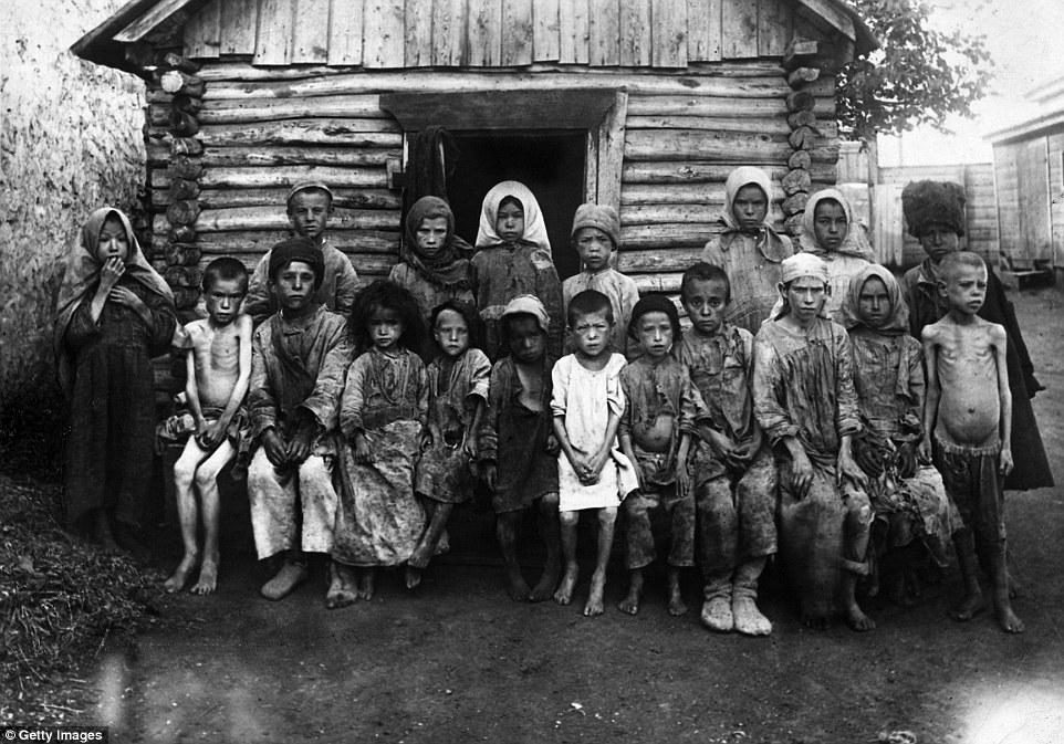 голод в России в 1920-х годах