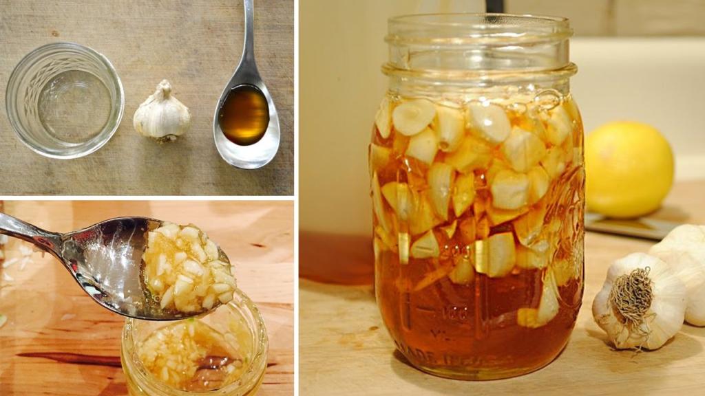 Народные рецепты лечения синусита чесноком и медом
