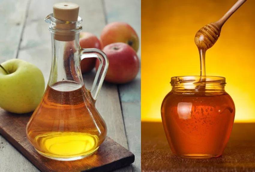 Мед с яблочным уксусом