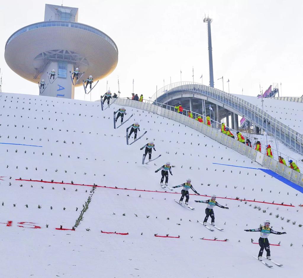 Лыжный прыгун