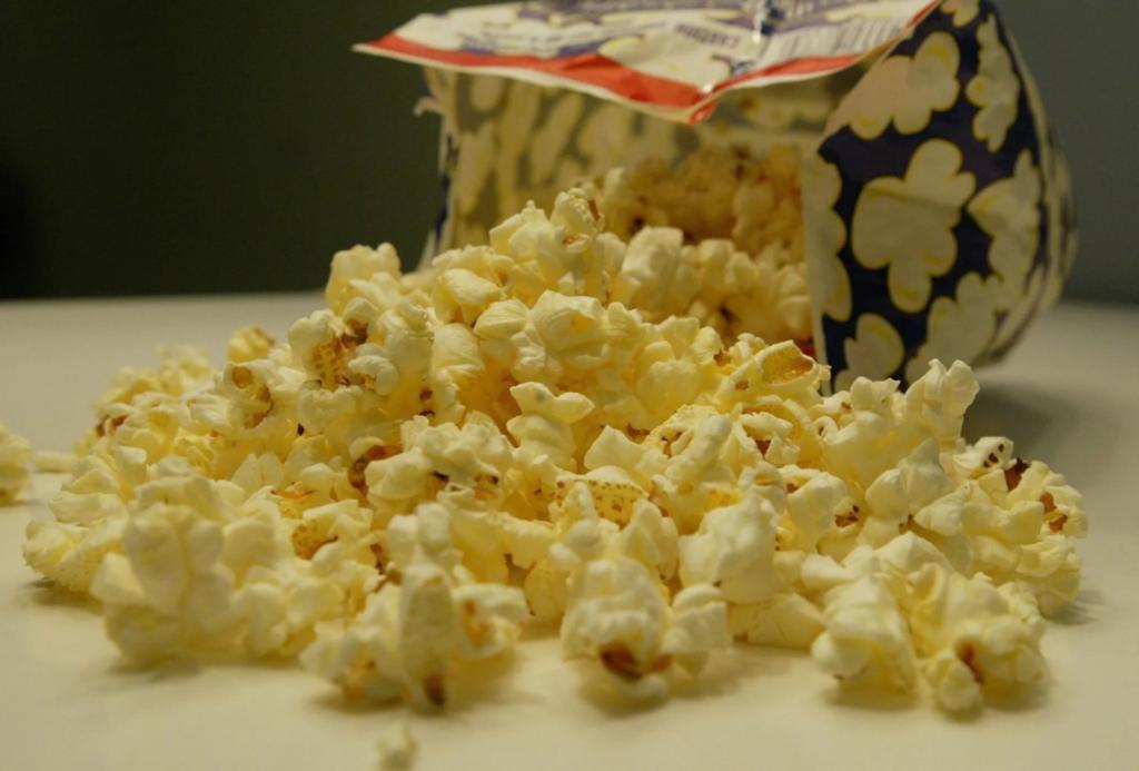 попкорн из микроволновки