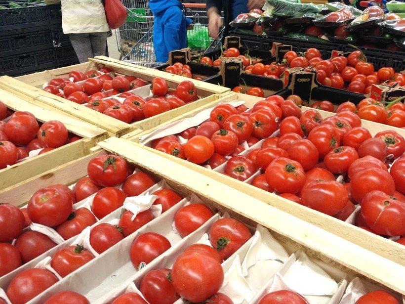 помидоры в Глобусе