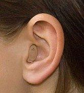 CIC слуховой аппарат