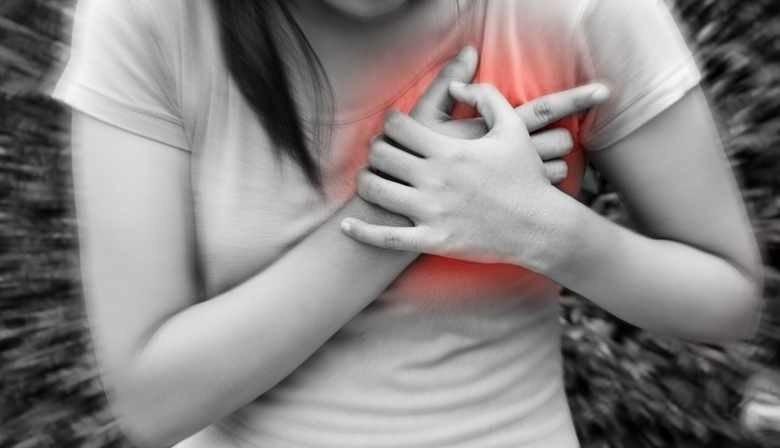 при сердечном приступе