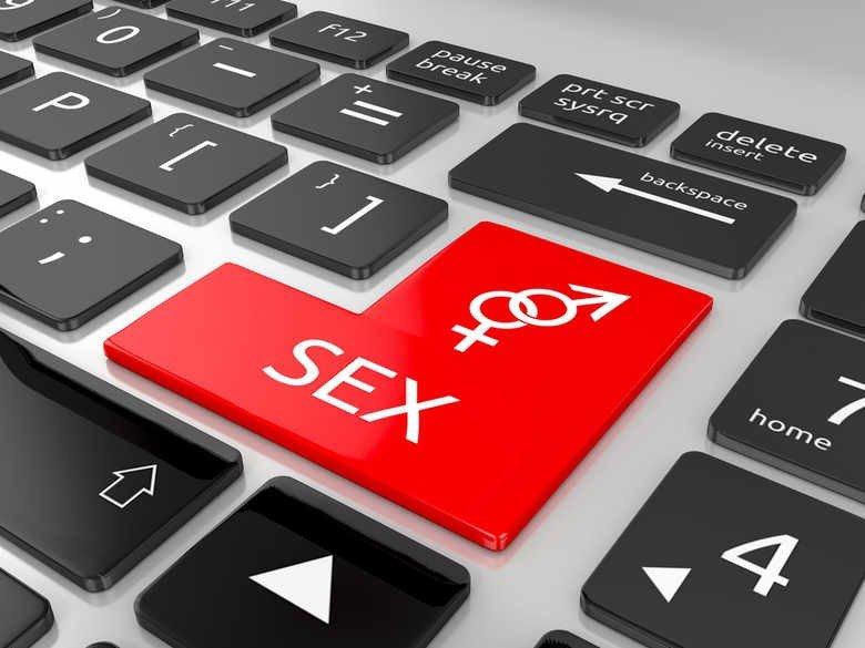кнопка секс