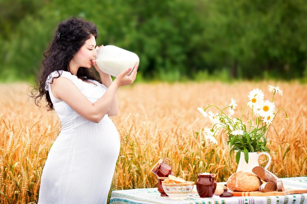 Козье молоко во время беременности