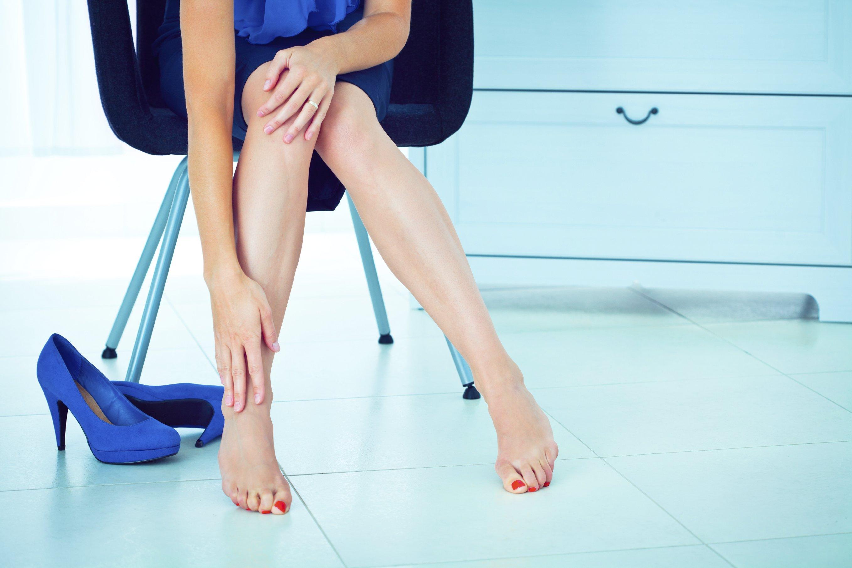 Отеки ног после работы: как устранить